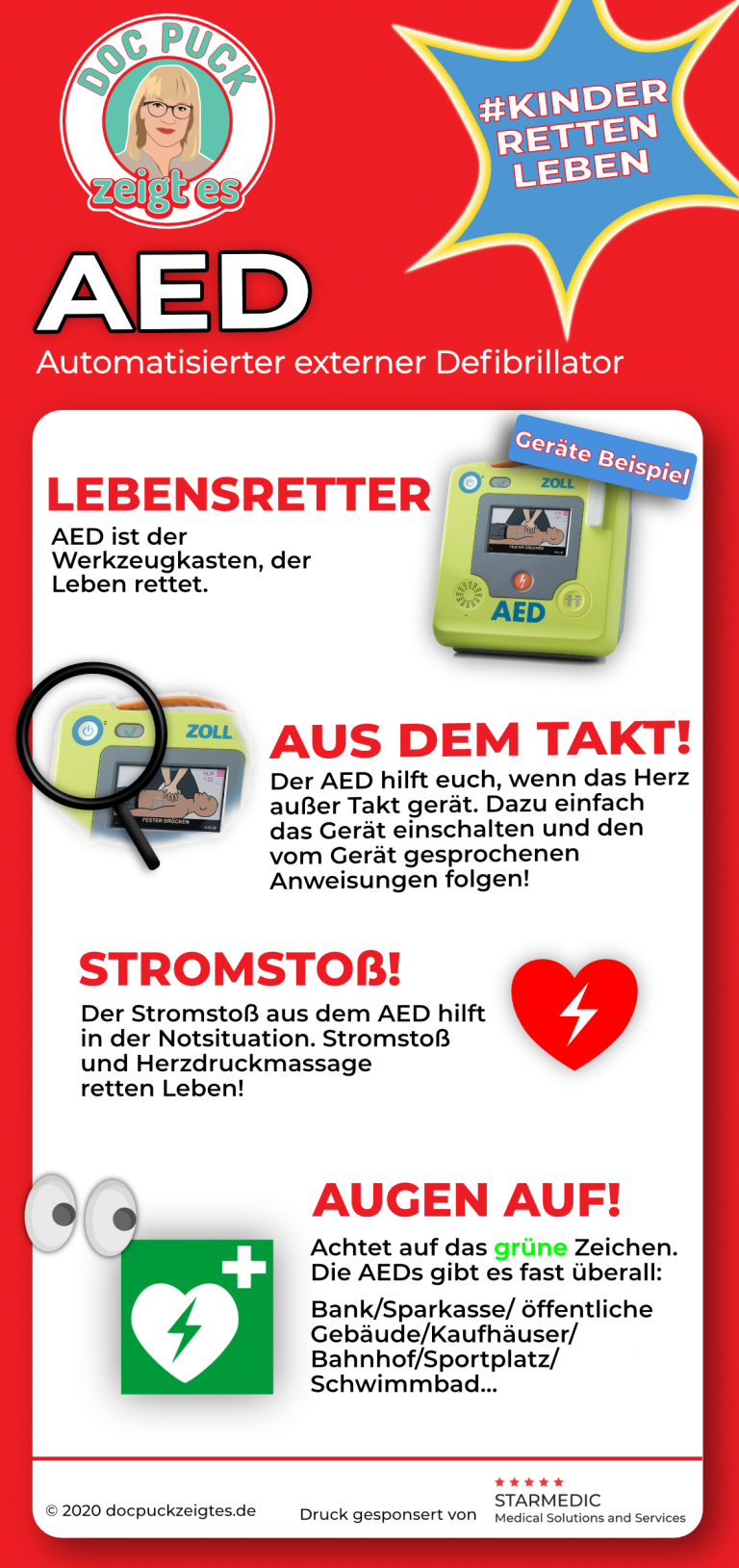 Flyer AED